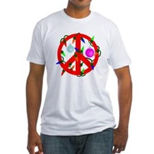 Peace For Christmas Red Shirt
