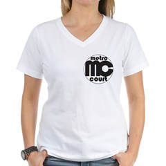Metro Court Women's V-Neck T-Shirt