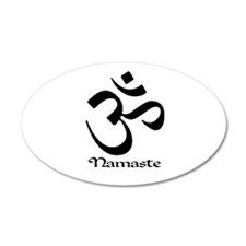 Namaste 20x12 Oval Wall Peel