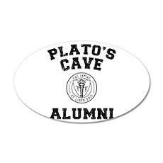 Plato 35x21 Oval Wall Peel