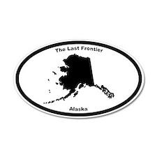 Alaska Nickname 35x21 Oval Wall Peel