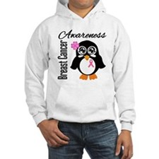 Penguin Breast Cancer Hoodie