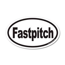 Fastpitch Euro 35x21 Oval Wall Peel
