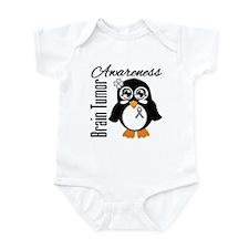 Penguin Brain Tumor Infant Bodysuit