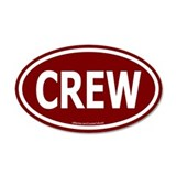CREW Euro 35x21 Oval Wall Peel