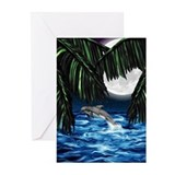 Moonlit Paradise Greeting Cards (Pk of 20)