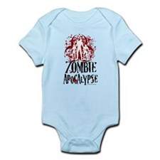 Zombie Apocalypse Infant Bodysuit
