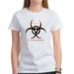 Inteligent Design Is A Biohazard - flame Women's T