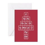 Tweleve Elements of Christmas Cards (20pk)
