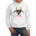 Inteligent Design Is A Biohazard - flame Hooded Sw