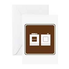 Laundry Sign Greeting Cards (Pk of 20)