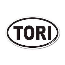 TORI Euro 35x21 Oval Wall Peel