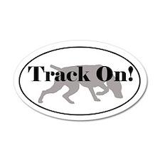 Tracking Sticker - Weimaraner Track On!