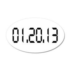 01.20.13 20x12 Oval Wall Peel