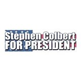 STEPHEN COLBERT FOR PRESIDENT 36x11 Wall Peel