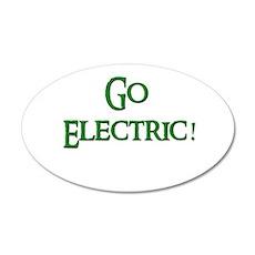 Go Electric 2 20x12 Oval Wall Peel