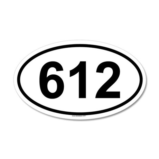 612 20x12 Oval Wall Peel