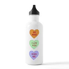 Conv Hearts Water Bottle