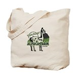 Alpaca Farm Tote Bag