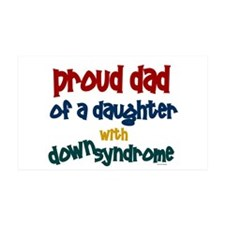 Proud Dad.....2 (Daughter DS) 35x21 Wall Peel