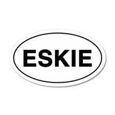 ESKIE 20x12 Oval Wall Peel