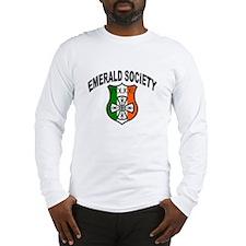 Police Emerald Society Long Sleeve T-Shirt