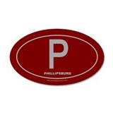 Phillipsburg 20x12 Oval Wall Peel