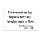 Henry David Thoreau 10 20x12 Wall Peel