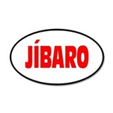 JIBARO... 20x12 Oval Wall Peel