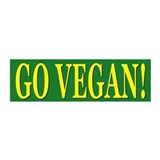 GO VEGAN 20x6 Wall Peel