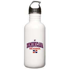 Dominicana Baseball Beisbol Water Bottle