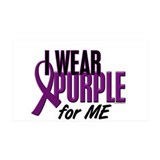 I Wear Purple For ME 10 35x21 Wall Peel