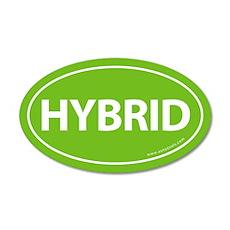 Hybrid Bumper 20x12 Oval Wall Peel -Calypso Green