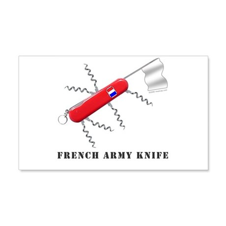 French Army Knife 20x12 Wall Peel
