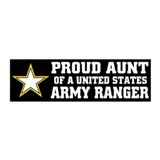 PROUD Aunt - ARMY RANGER 20x6 Wall Peel