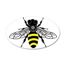 HONEYBEE 20x12 Oval Wall Peel