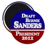 Draft Bernie Sanders for President Magnet