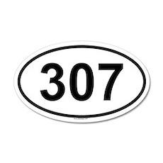 307 20x12 Oval Wall Peel