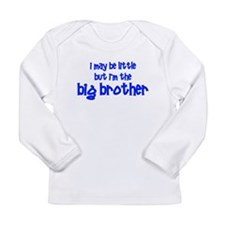 Little Big Brother Long Sleeve Infant T-Shirt