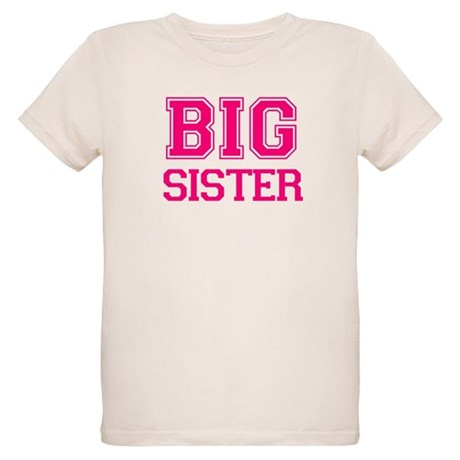 Big Sister Organic Kids T-Shirt