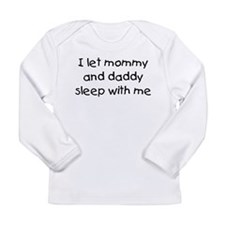 Mommy and Daddy Long Sleeve Infant T-Shirt