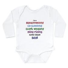 Loved little boy Long Sleeve Infant Bodysuit