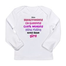 loved little girl Long Sleeve Infant T-Shirt