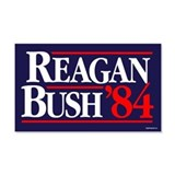 Reagan Bush '84 Campaign 20x12 Wall Peel