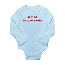 Future hall of famer Long Sleeve Infant Bodysuit