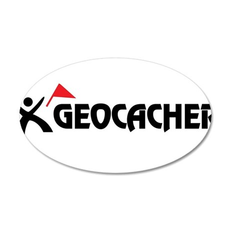 Geocacher 20x12 Oval Wall Peel