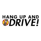 Hang Up and Drive! 36x11 Wall Peel