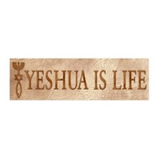Yeshua is Life 20x6 Wall Peel