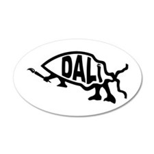 Dali Fish 20x12 Oval Wall Peel