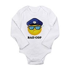 Bad Cop Long Sleeve Infant Bodysuit